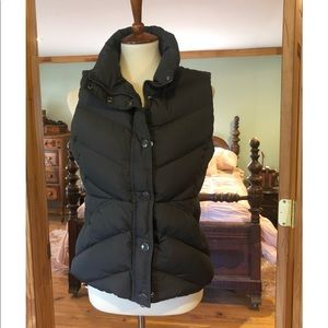 J. Crew Sherpa Lined Quilted Puffer Vest Sz S